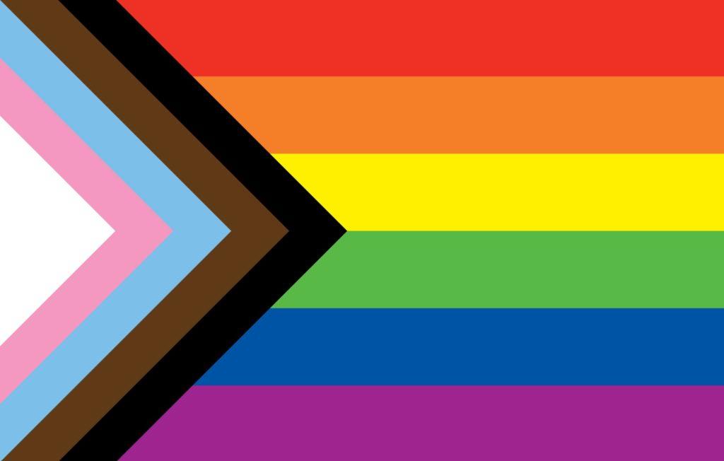 LGBTQ+ progressive flag